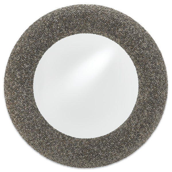 Currey and Company Batad Shell Round Mirror 1000-0018
