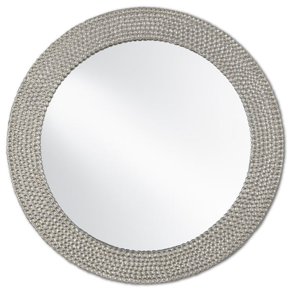Currey and Company Rogan Silver Mirror 1000-0065