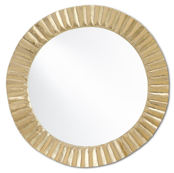 Currey and Company Carla Gold Large Mirror 1000-0067