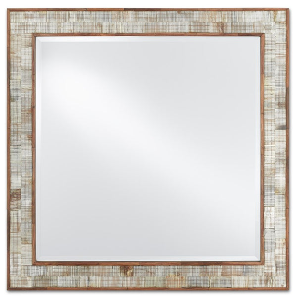 Currey and Company  Hyson Square Mirror 1000-0069