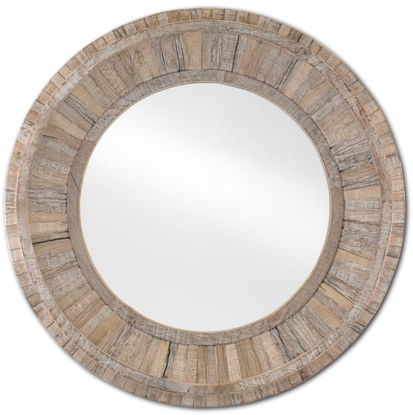 Currey and Company Kanor Round Mirror 1000-0086