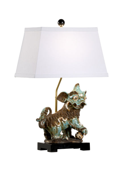 Chelsea House Chinese Dog Lamp - Left 70005