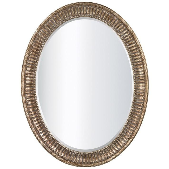 Lovecup Cosmos Oval Mirror in Bronze - LOVECUP