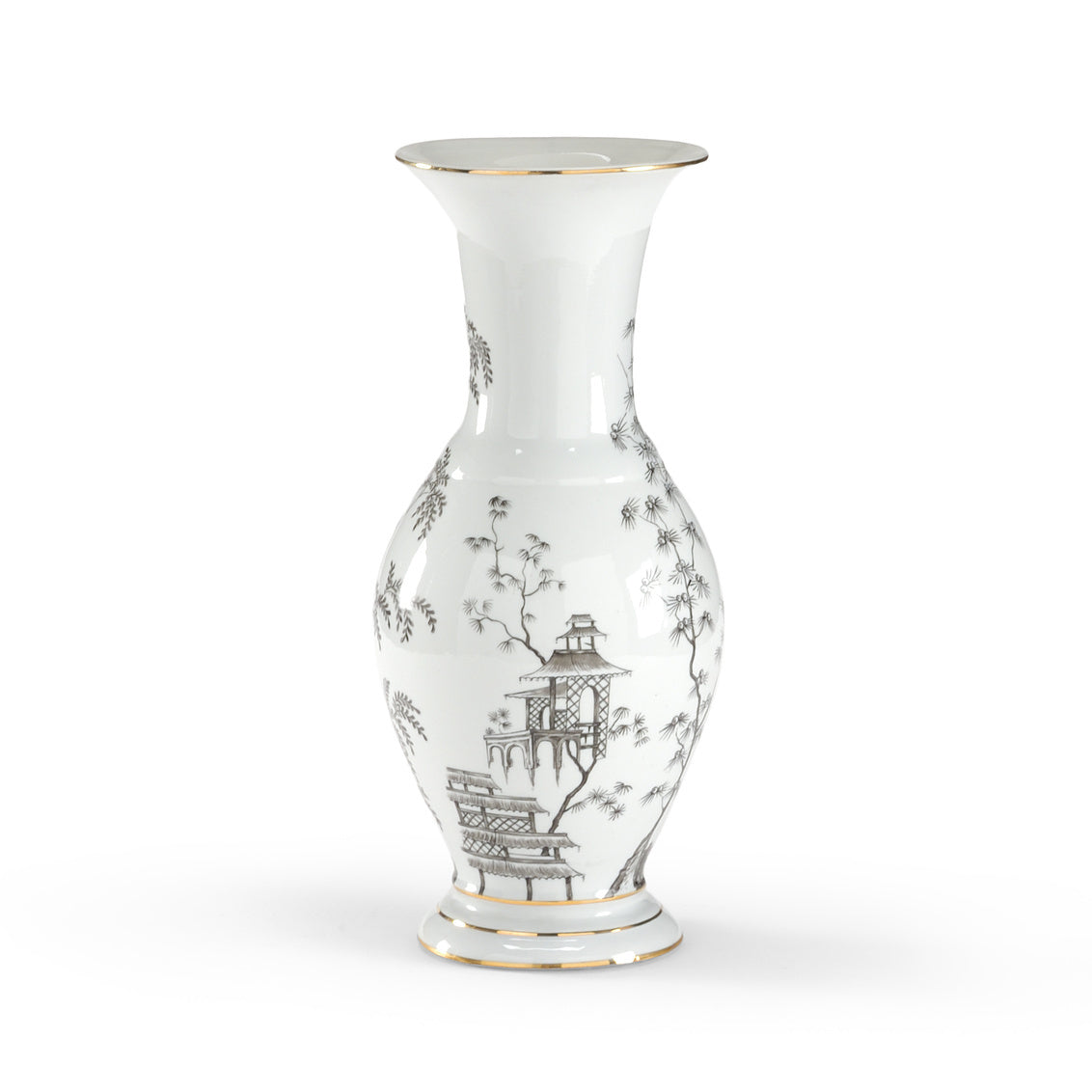Chelsea House Black & White Chinoisserie Urn 381726