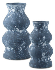 Currey and Company Phonecian Blue Large Vase 1200-0191