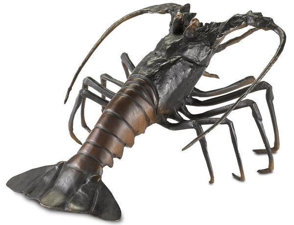 Currey and Company Edo Bronze Lobster 1200-0292