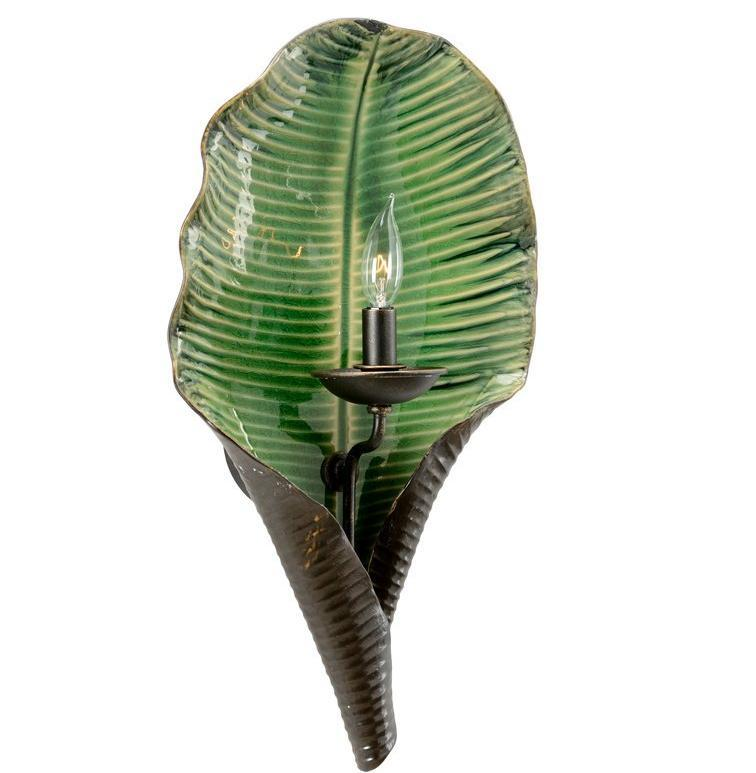 Chelsea House Palm Leaf Sconce 69138 - LOVECUP