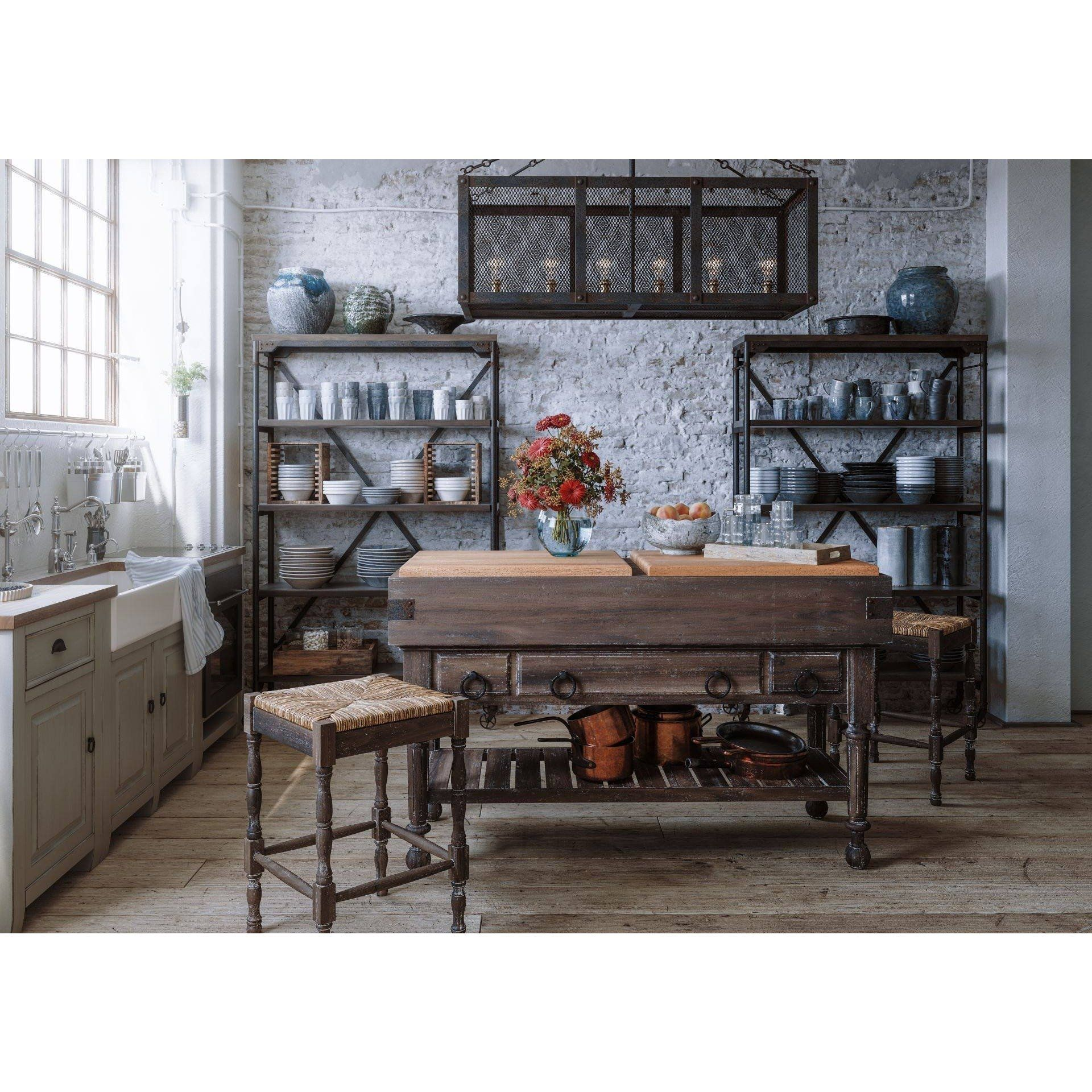 Lovecup Mercantile Rolling Shelving - LOVECUP