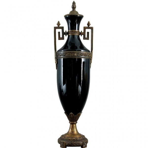 Loving Cup Trophy Cup Ebony with Bronze Ormolu L421