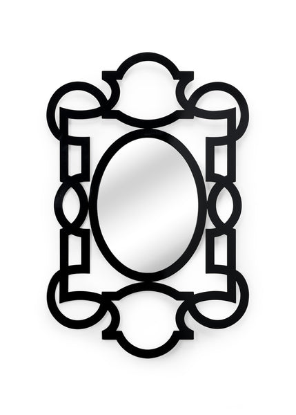 Chelsea House Tracery Mirror - Black 382464