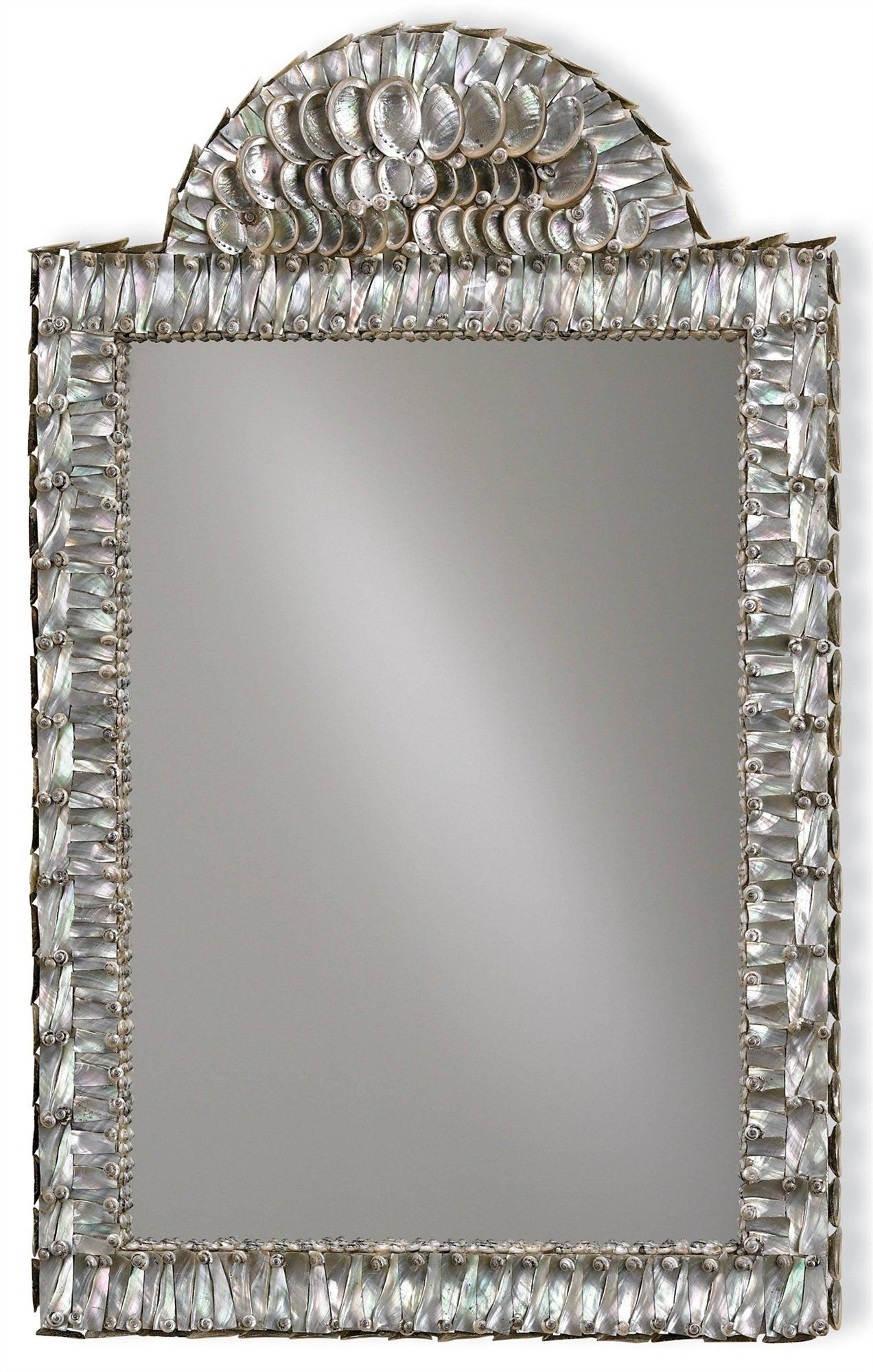 Currey and Company Abalone Wall Mirror 1325 - LOVECUP