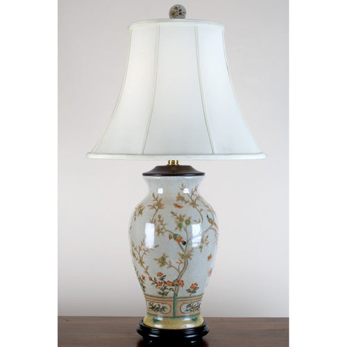 Lovecup Grandmillennial Round Vase Table Lamp L139
