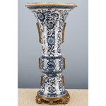 Lovecup Bird Bronze Ormolu Porcelain Vase - LOVECUP