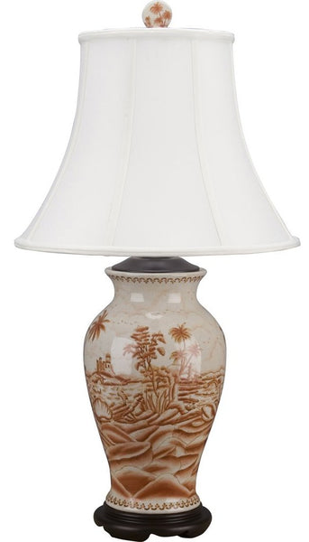 Lovecup Palm Beach Porcelain Table Lamp