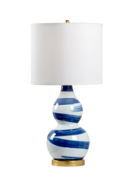 Chelsea House Essex Lamp - Blue 69393