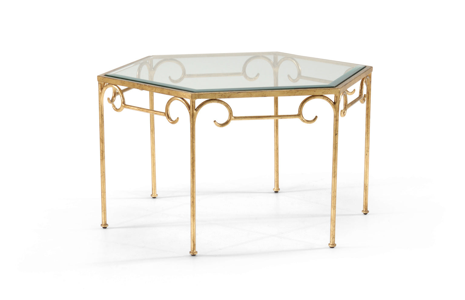 Chelsea House Lorenzo Cocktail Table Gold 381472