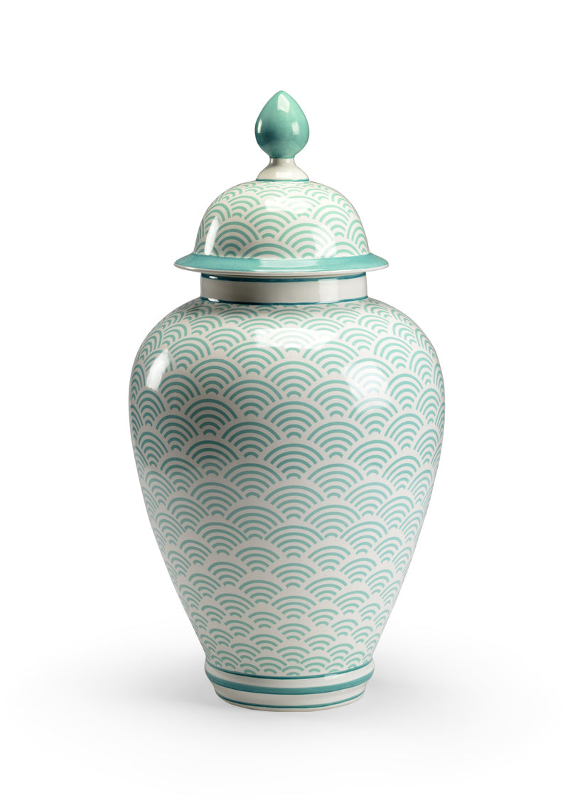 Chelsea House Scale Vase - Green 383560