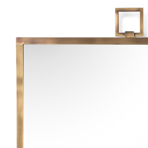 Chelsea House Square Mirror - Brass 382677