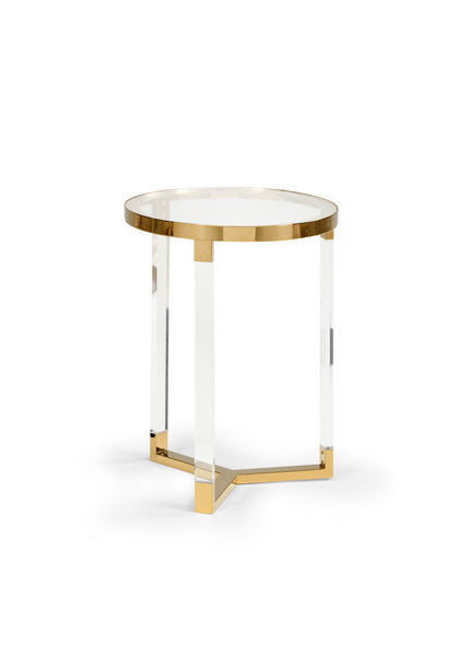Chelsea House Moravian Acrylic Side Table Small 383847