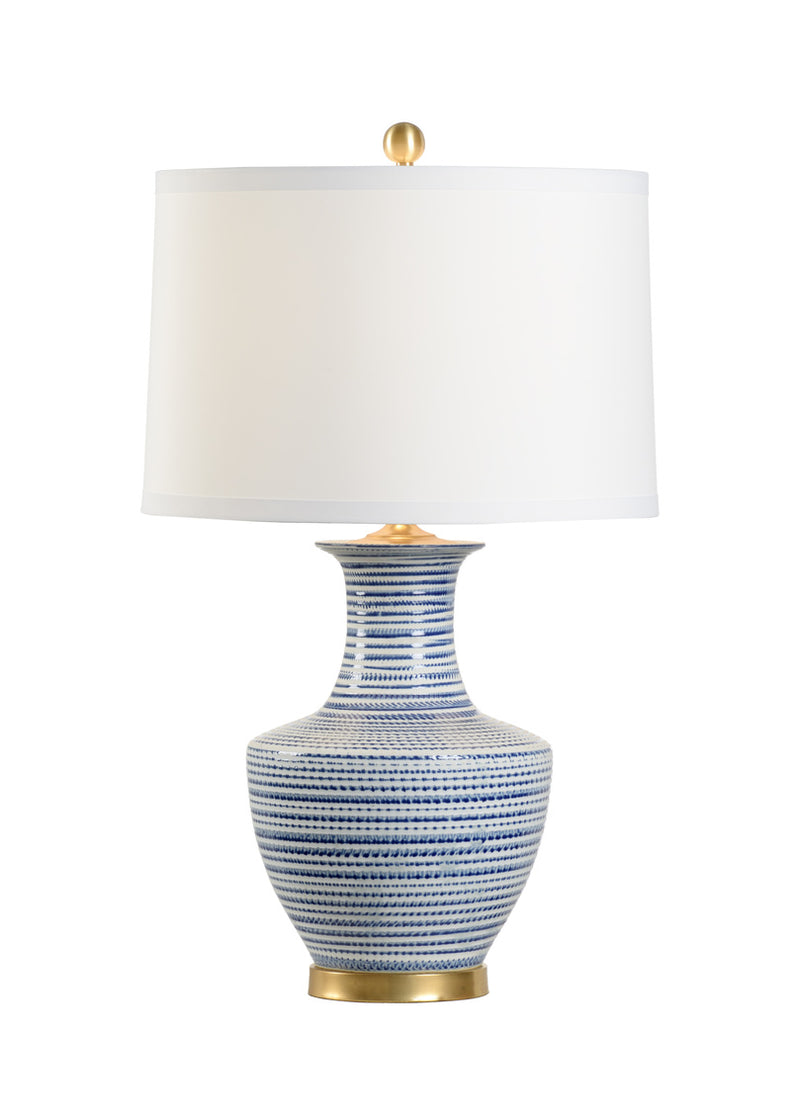 Chelsea House Classic Lamp - Blue 70003