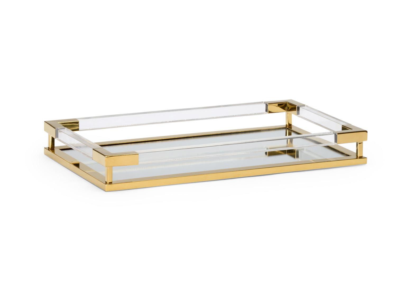 Chelsea House Acrylic Handle Tray 384260