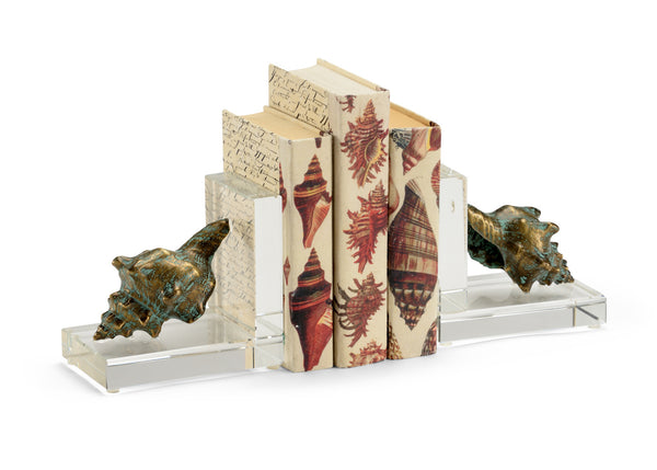 Chelsea House Shell Bookends 383457
