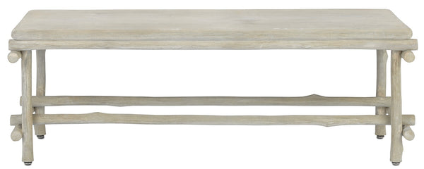 Currey and Company Luzon Bench/Table 2000-0027