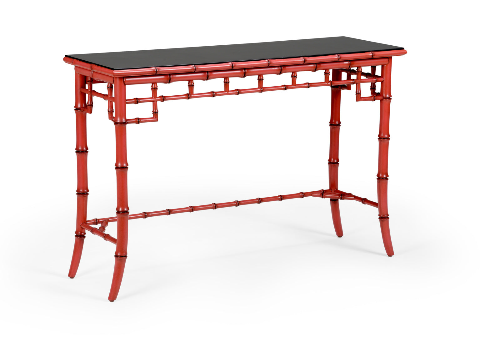 Chelsea House Bamboo Console - Red 383607