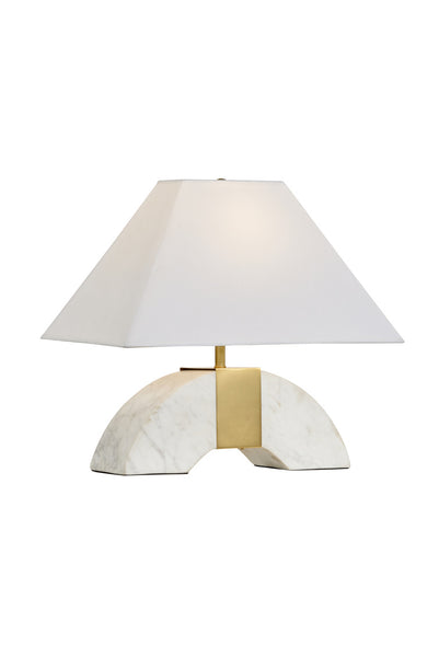 Matthew Frederick Chess Court Table Lamp - Marble 65707