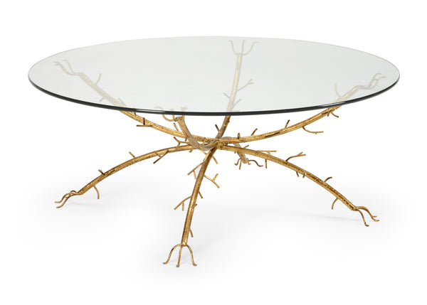 Chelsea House Gold Coral Coffee Table 383670