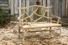 Currey and Company Woodland Bench 2705 - LOVECUP