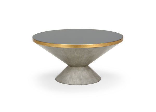 Chelsea House N. Y. Cocktail Table - Gray 383925