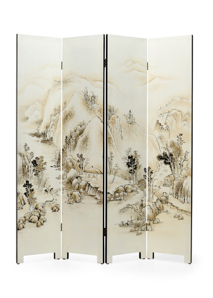 Wildwood Honshu 4 Panel Screen 301959