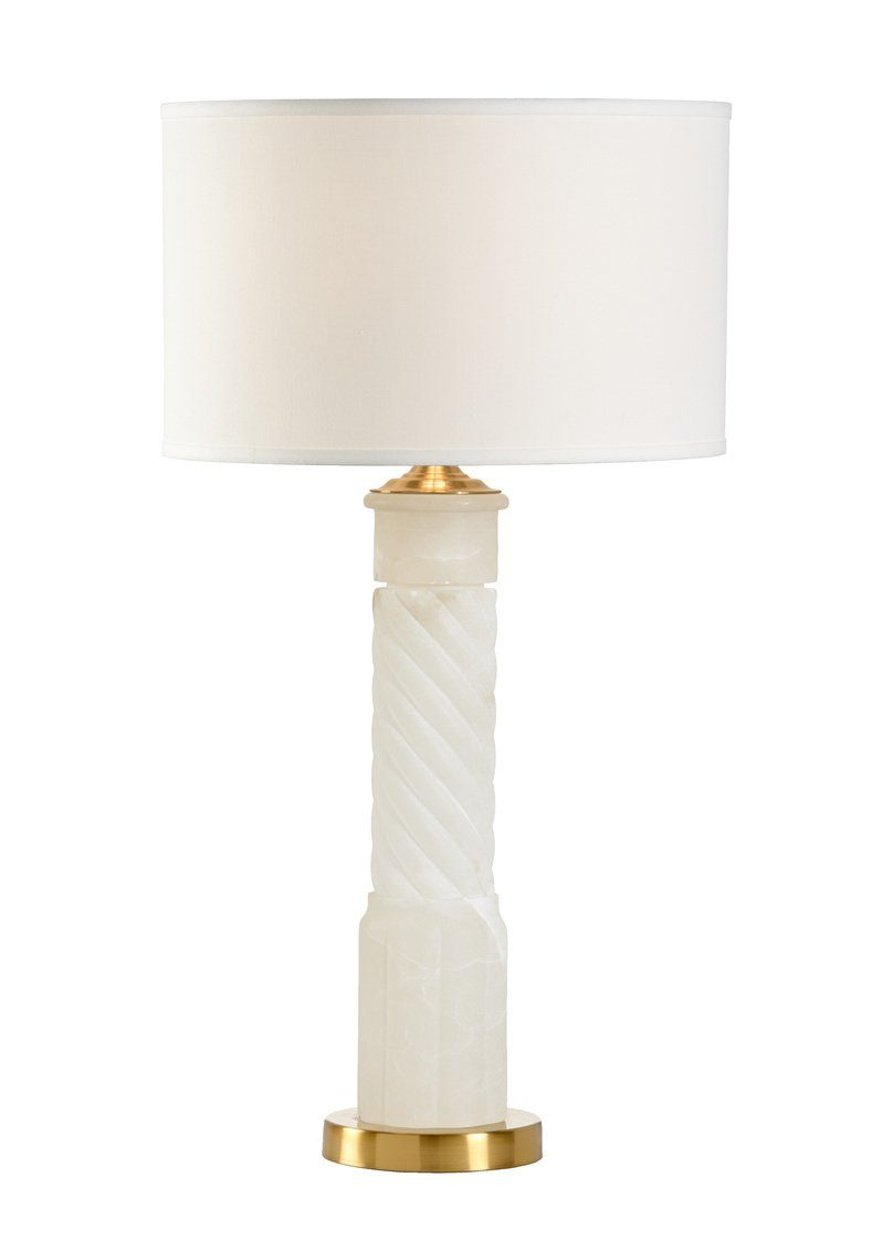 Chelsea House Roman Alabaster Table Lamp 69259 - LOVECUP