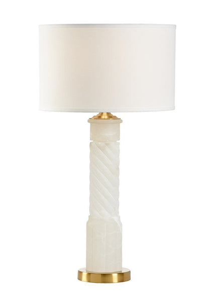 Chelsea House Roman Alabaster Table Lamp 69259