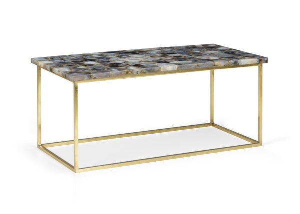 Chelsea House Gray Agate Coffee Table 383351