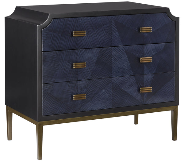 Currey and Company Kallista Chest 3000-0124