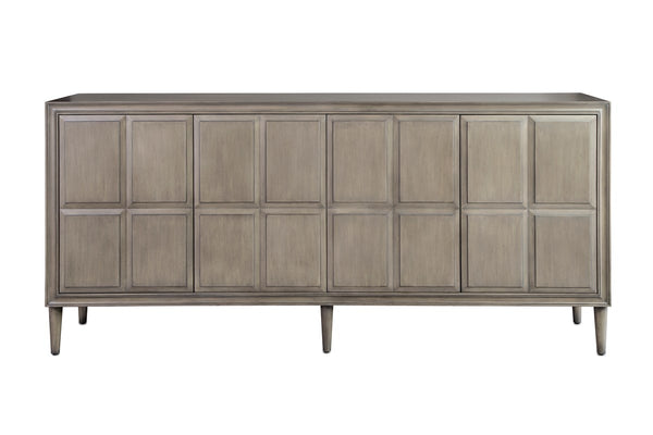 Currey and Company Counterpoint Gray Credenza 3000-0135