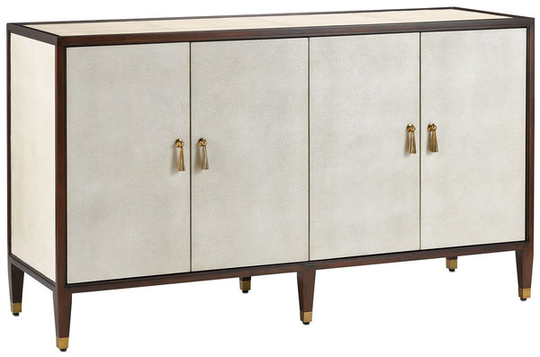 Currey and Company Evie Shagreen Credenza 3000-0142