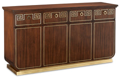 Currey and Company Zoe Credenza 3000-0147