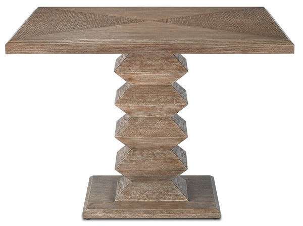 Currey and Company Sayan Pepper Dining Table 3000-0158