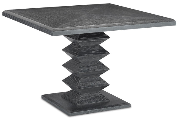 Currey and Company Sayan Black Dining Table 3000-0162