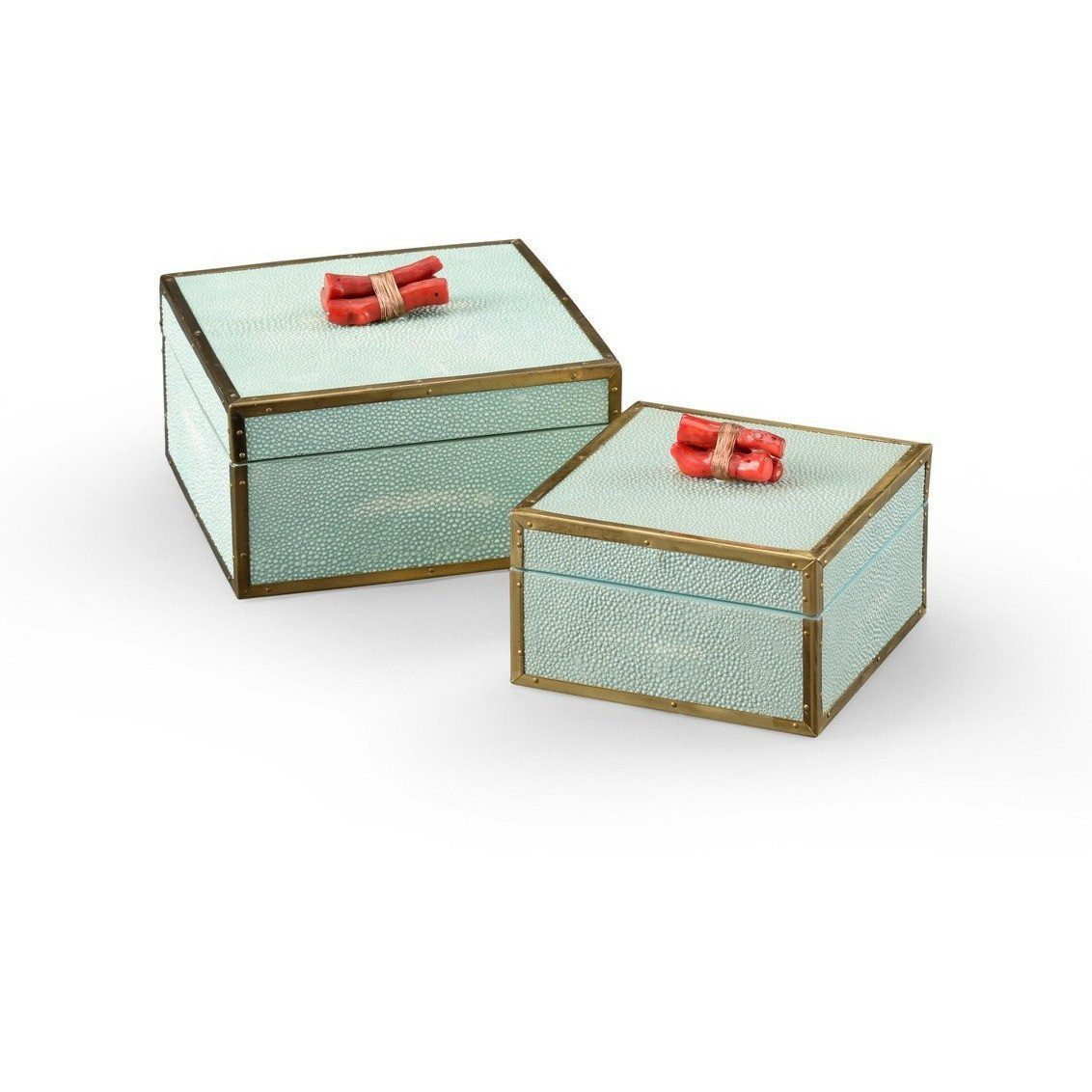 Sea Mist Coral Boxes - LOVECUP
