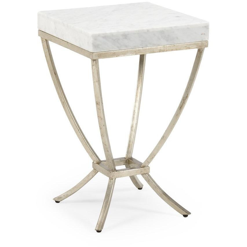 Chelsea House Home Brandon Side Table-Silver 382002 - LOVECUP