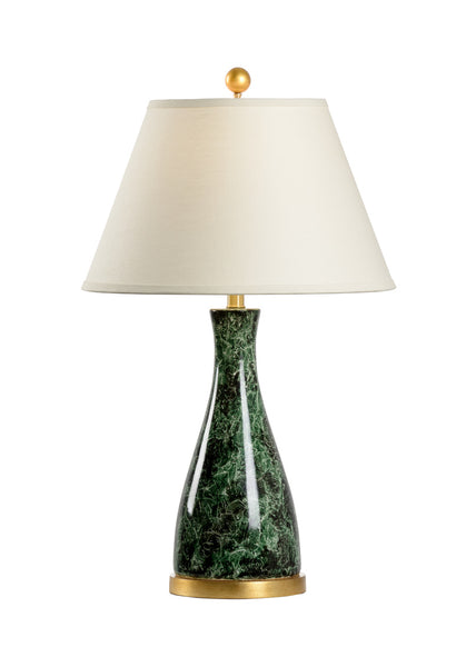 Chelsea House Malachite Beaker Table Lamp 69997