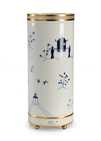 Chelsea House Chinoiserie Umbrella Stand 382600