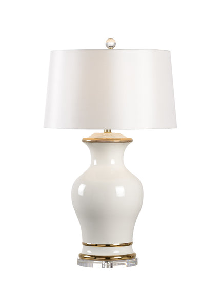 Shayla Copas Designs Audrey Lamp with Acrylic Base - White 69778
