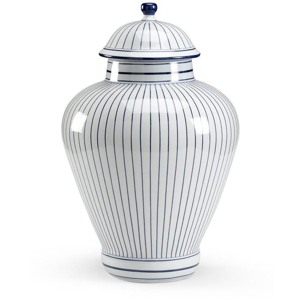 Chelsea House Castle Large Blue Porcelain Urn 382130