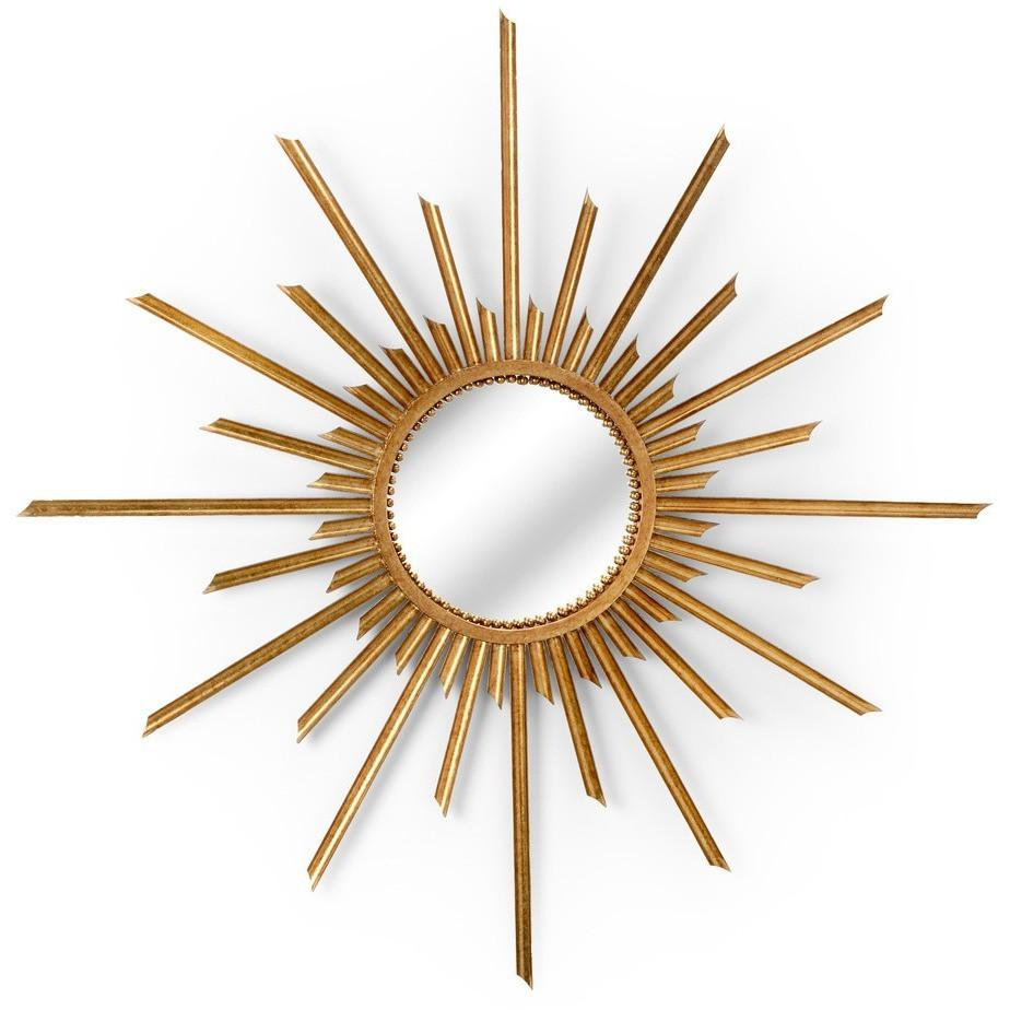 Chelsea House Antique Gold Mirror Ra - LOVECUP
