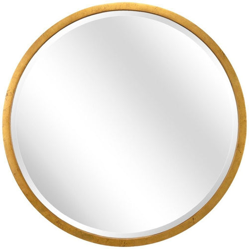 Chelsea House Large Round Gold Mirror 382449 - LOVECUP